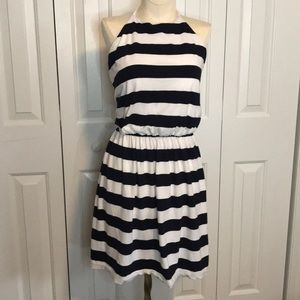 Halter cotton dress.